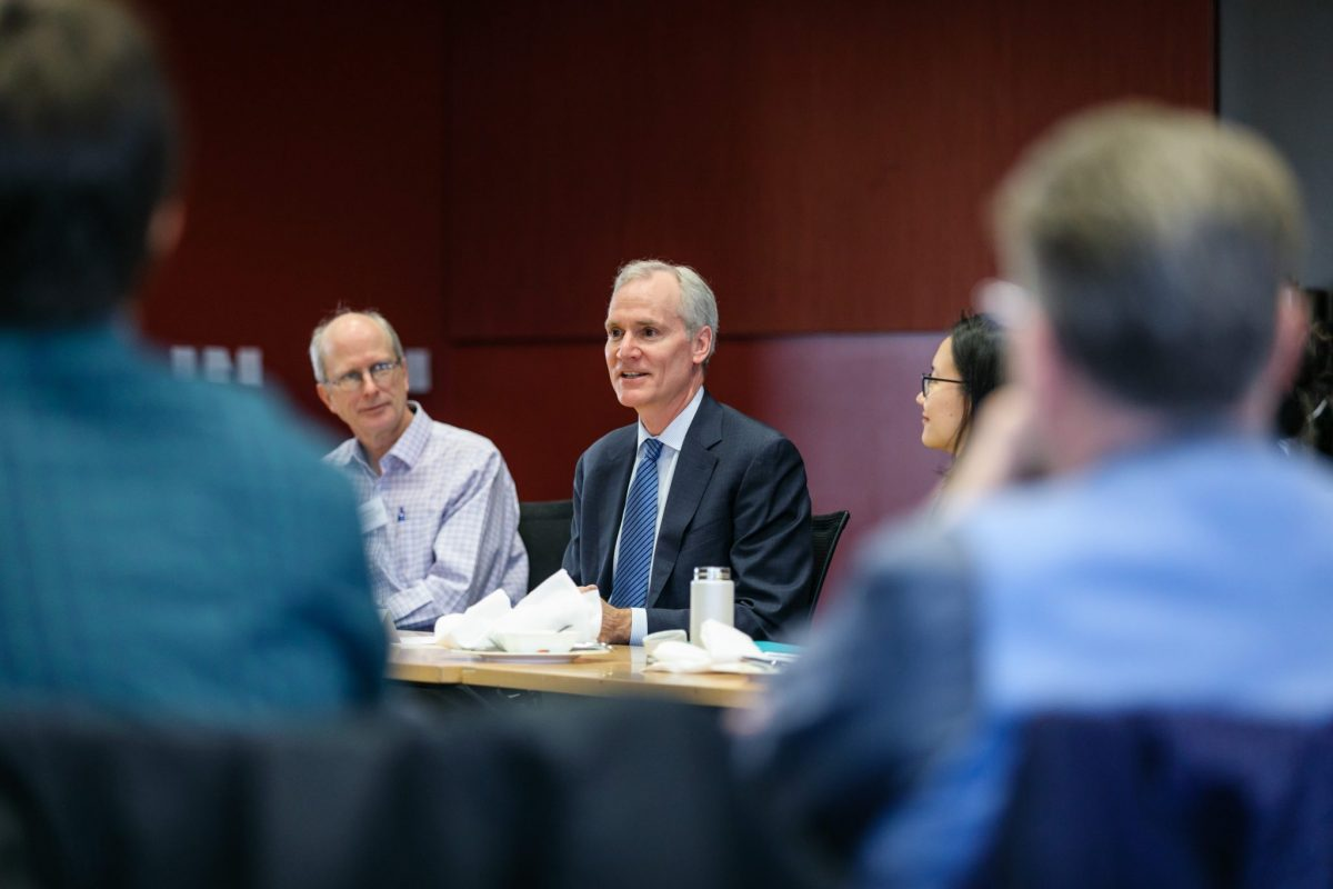 Fellows heard insights from senior university leadership, including Marc Tessier-Lavigne, President of Stanford University.