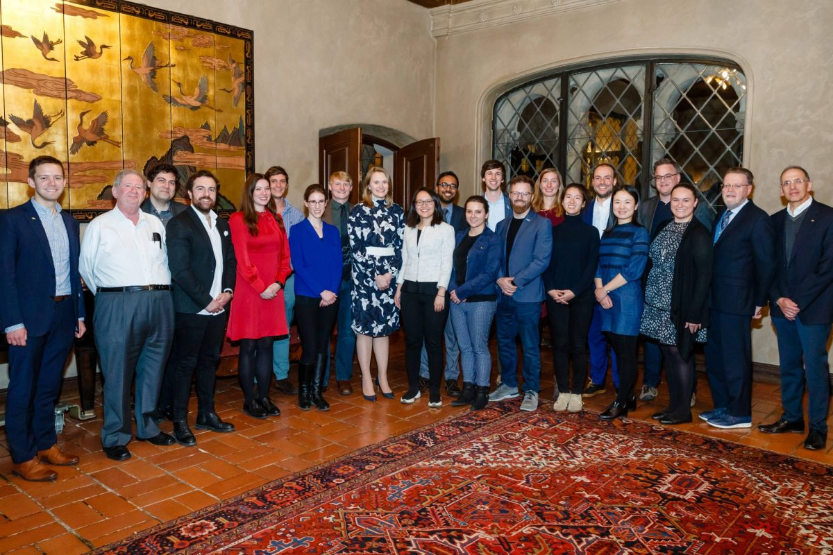The 2019 Northern California Global Meeting culminated with a closing dinner for Fellows, staff, and our hosts at the Berkeley City Club.