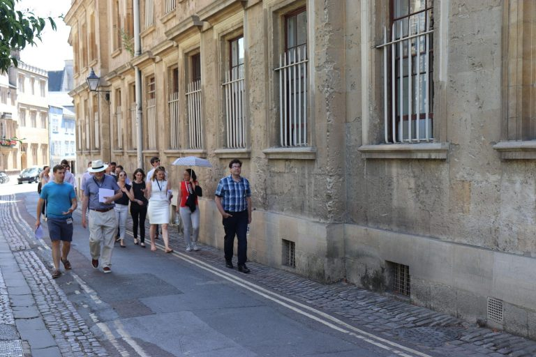 The Global Meeting was centred on the city of Oxford where Fellows had the opportunity to walk in the footsteps of Edmund Halley, Robert Hooke, Christopher Wren, and Howard Florey.