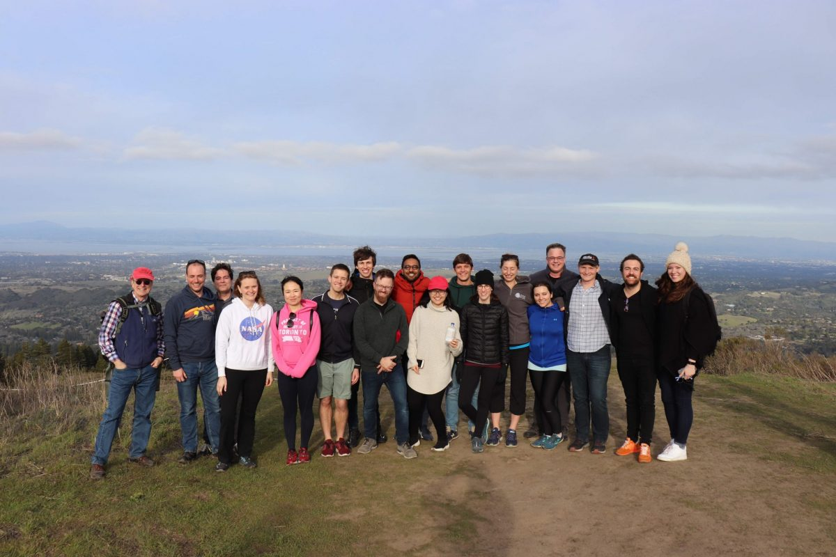Cohort bonding is a valuable feature of our Global Meetings. While n California our Fellows, Schmidt Science Fellows team members, and colleagues from Stanford University enjoyed an afternoon hiking in the Santa Cruz Mountains.