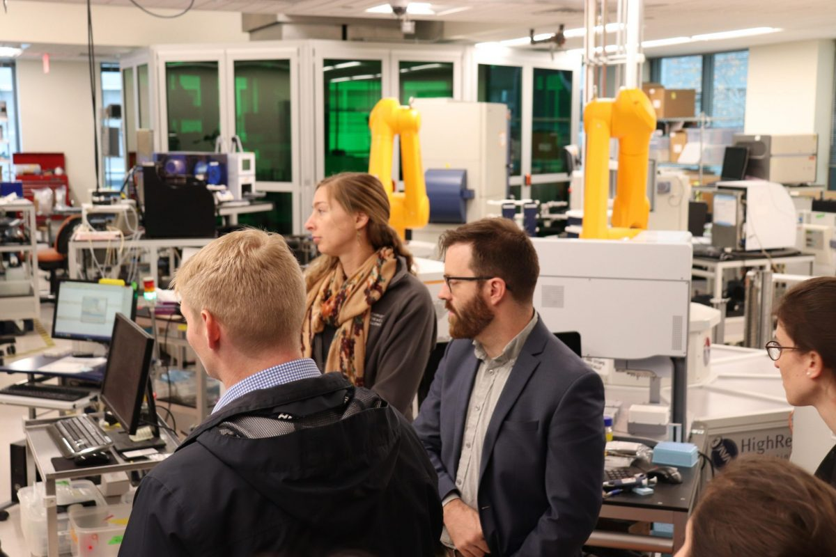 Fellows visited the robotic sequencing facility at the Broad Institute.