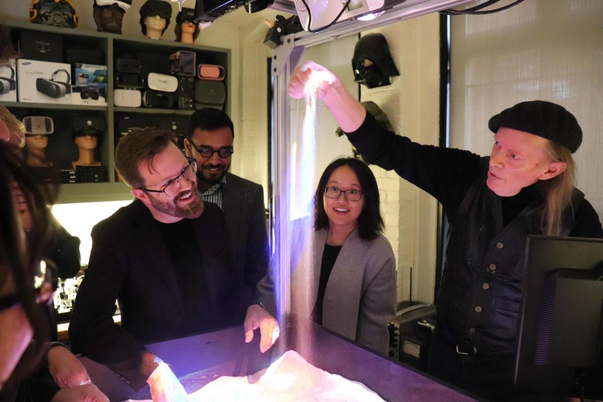 Fellows visited the Harvard Visualization Lab to experience the latest technology in virtual and augmented reality