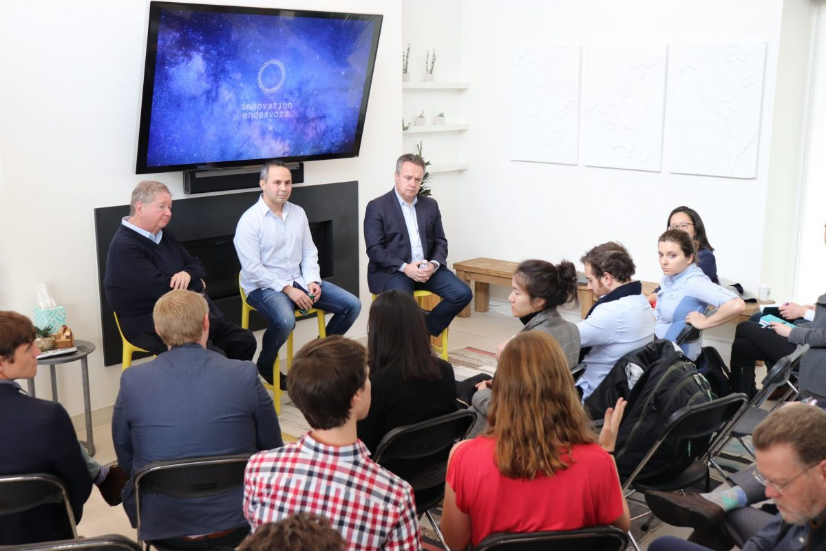 Innovation Endeavors, a Silicon Valley venture firm, hosted the Schmidt Science Fellows for an insight into how rapid technological advancements in three areas — data, leading-edge computation and advanced engineering — are converging, speeding up the product development cycle.