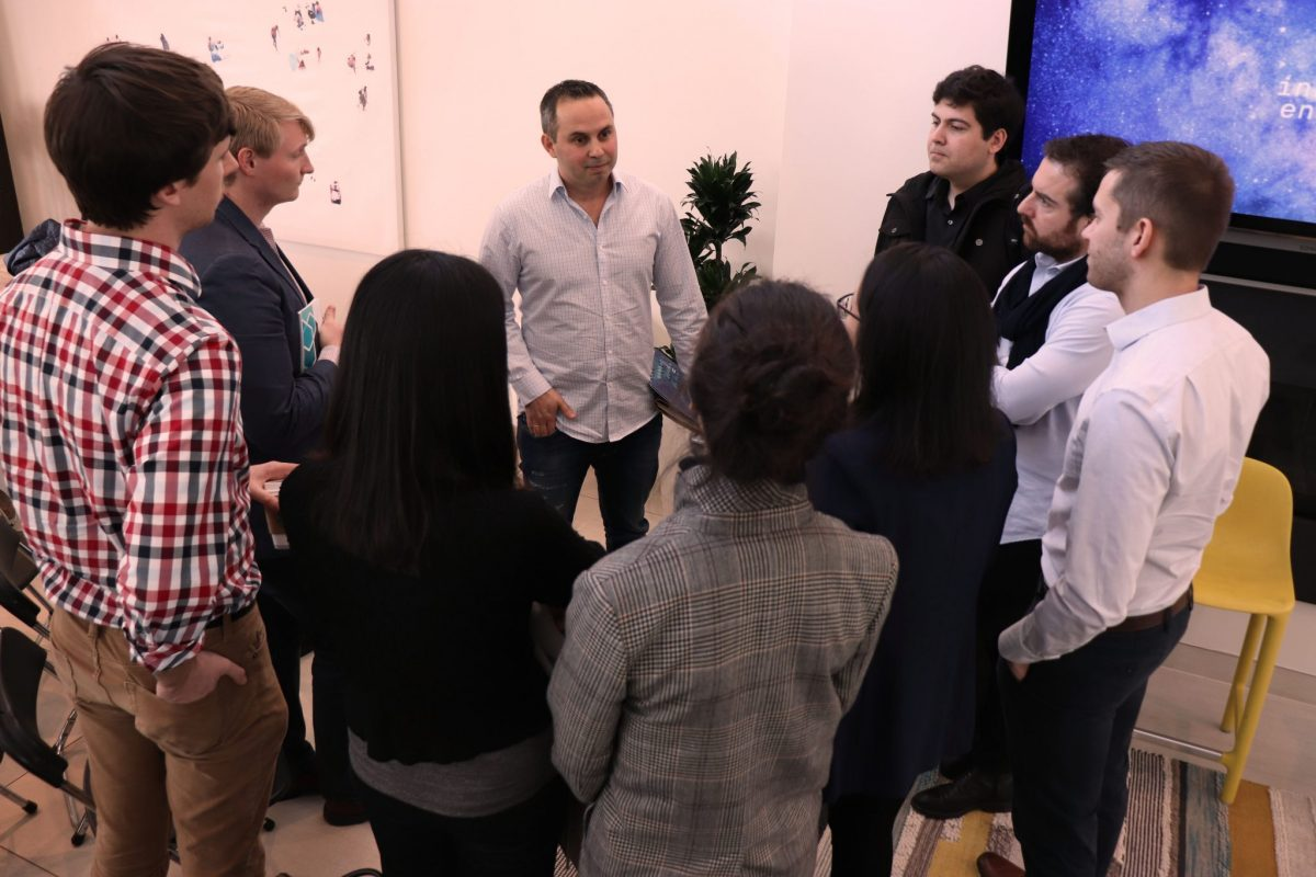 The opportunity for personal and focused time with Silicon Valley experts, such as Innovation Endeavors partner Dror Berman, gives our Fellows the build connections that they otherwise would not be able to.