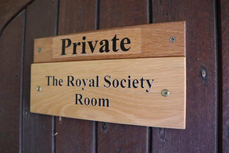 The Schmidt Science Fellows had the privileged opportunity to visit the room at Wadham College where the 'Philosophical Club' met. The members of the club became the nucleus of the Royal Society.